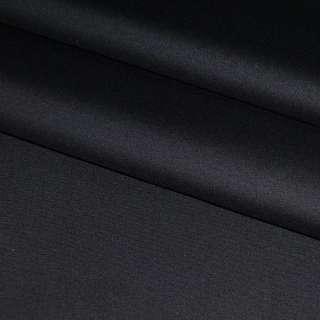 Котон стрейч чорний ш.125
