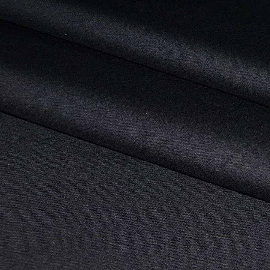 Коттон стрейч черный ш.125