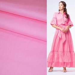Котон стрейч рожевий ш.130