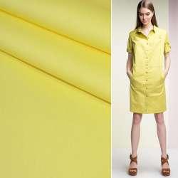 Котон стрейч жовтий ш.125