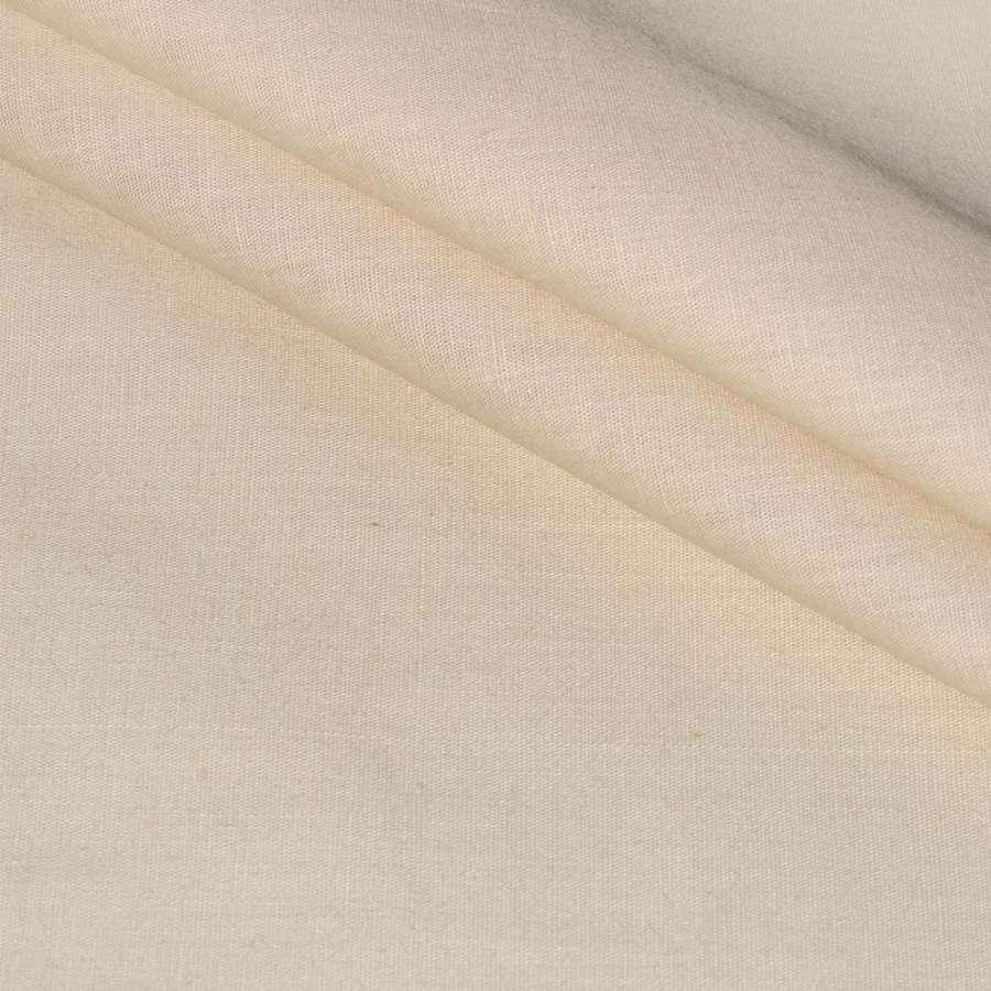 Коттон стрейч бежево-серый ш.140