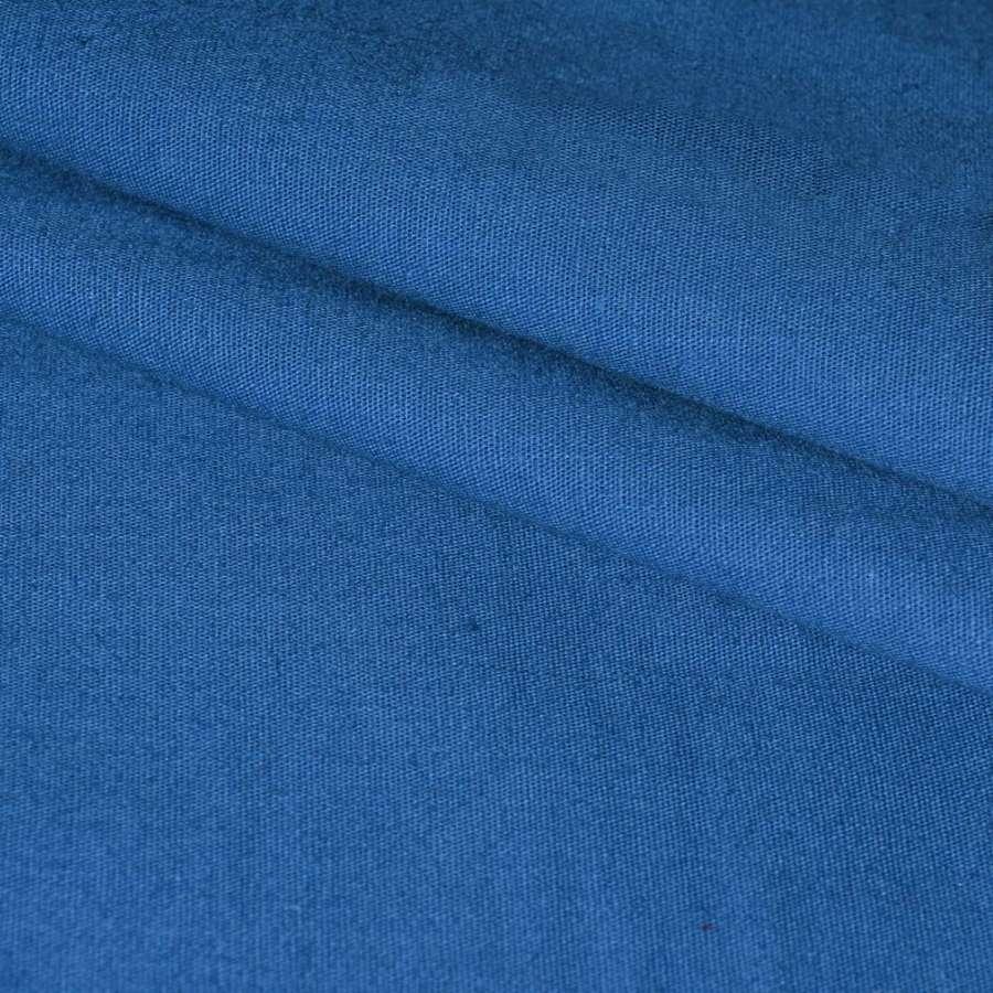 Коттон стрейч светло-синий ш.130