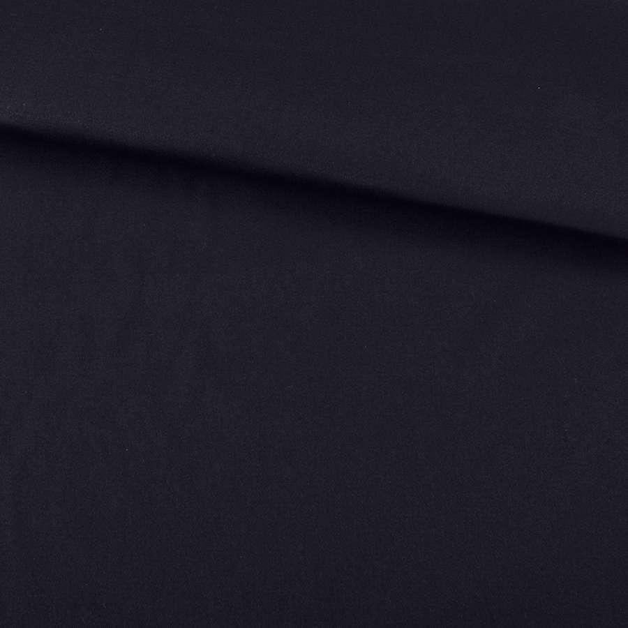 Коттон стрейч темно-синий ш.150