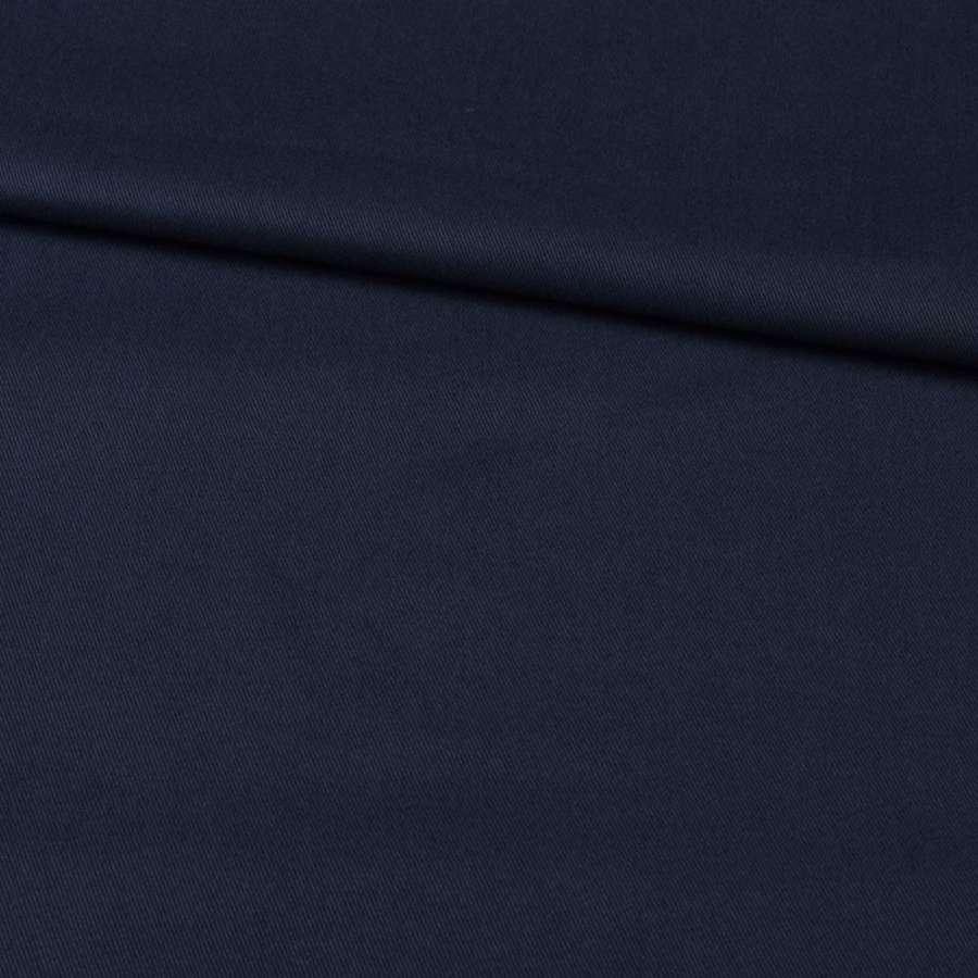 Коттон стрейч синий темный, ш.125