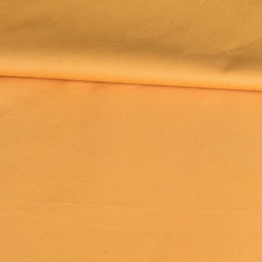 Коттон стрейч желтый темный, ш.145