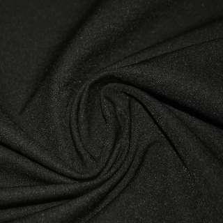 коттон стр. костюмн. черный с коричн. отт. ш.150