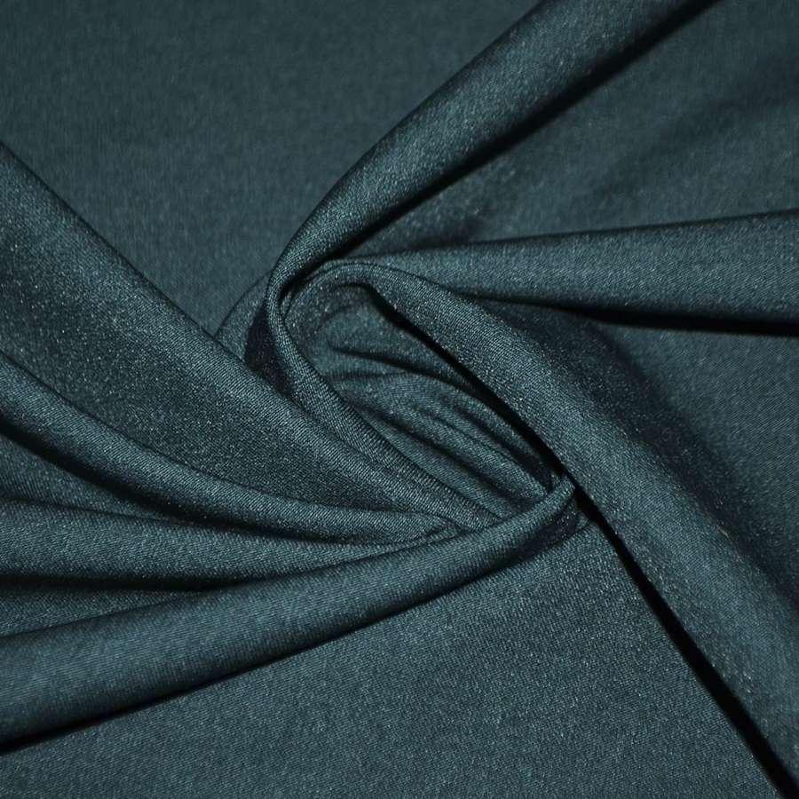 Коттон стрейч костюмный бирюзовый темный ш.150