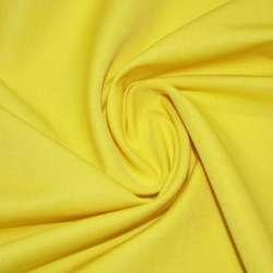 Коттон стрейч костюмный желтый ш.150