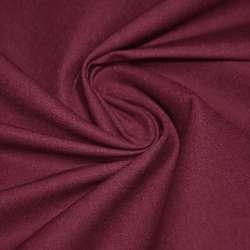 Коттон стрейч костюмный бордовый ш.150