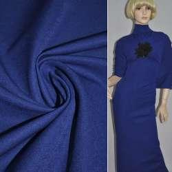 Коттон стрейч костюмный синий ш.150