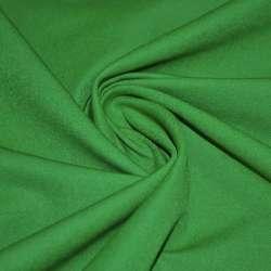 Коттон стрейч костюмный темно-зеленый ш.150