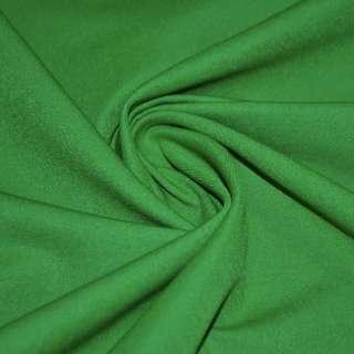 Котон стрейч костюмний темно-зелений ш.150