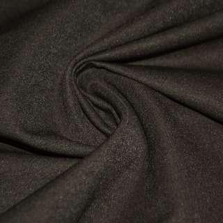 Котон стрейч костюмний коричневий темний ш.150