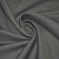 Коттон стрейч костюмный серо-сиреневый ш.150