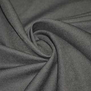 Котон стрейч костюмний сіро-бузковий ш.150
