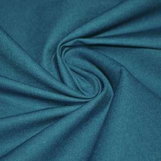 Котон стрейч костюмний темно-бірюзовий ш.150