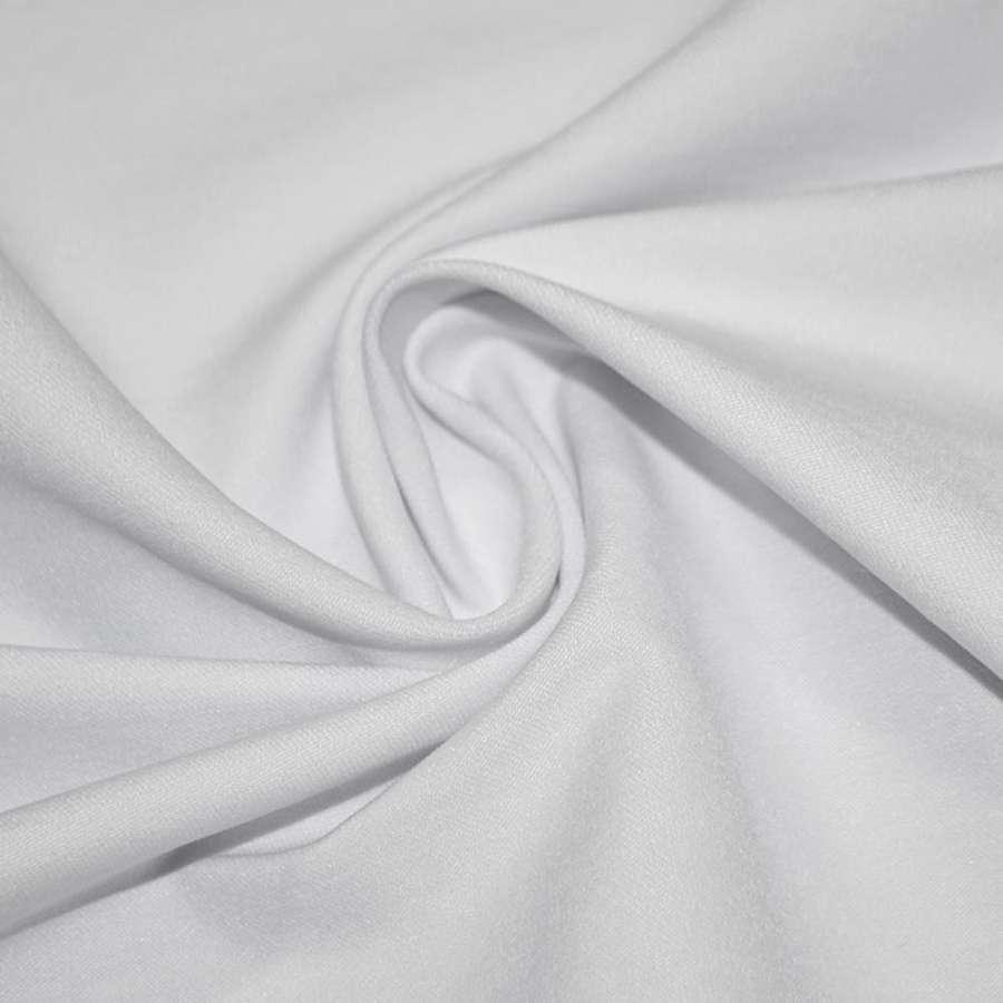 Котон стрейч костюмний білий ш.150