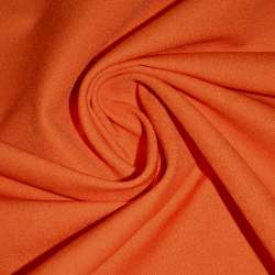 Коттон стрейч костюмный оранжевый темный ш.150