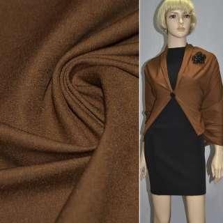 Котон стрейч костюмний коричневий ш.150