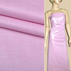 Коттон розовый с золотым напылением ш.145
