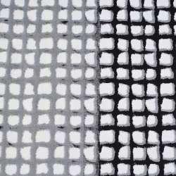 Коттон с эластаном белый в серо-черные окошки ш.125