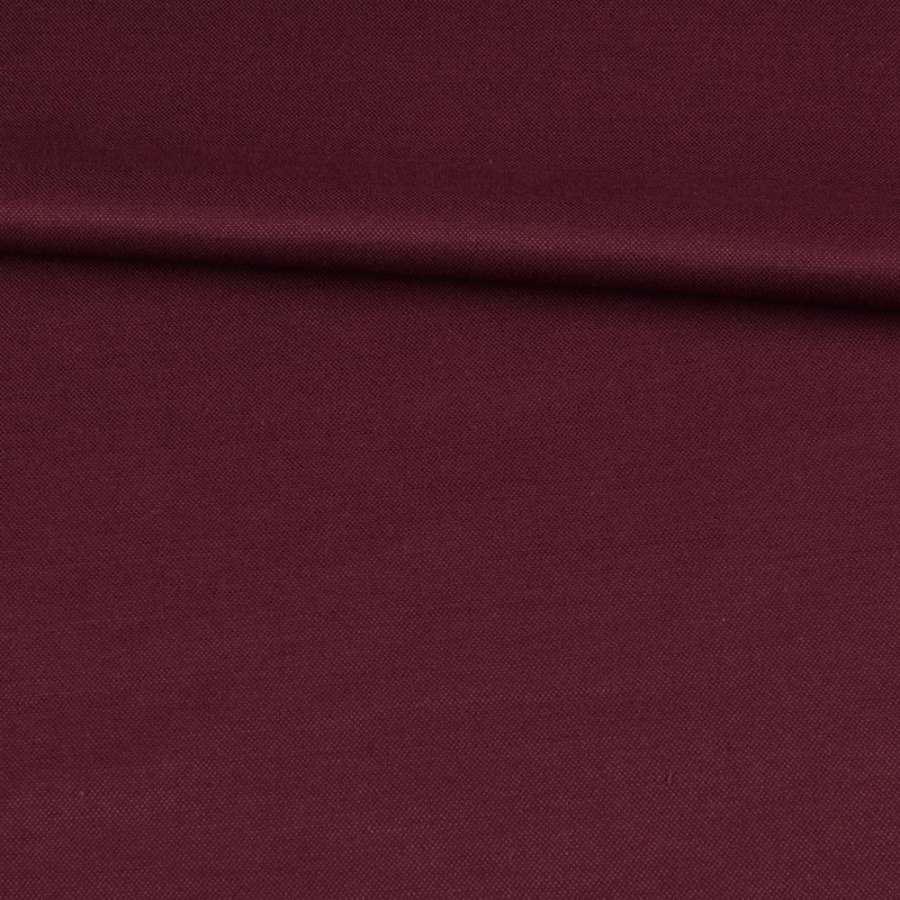 Коттон с отливом бордовый, ш.150