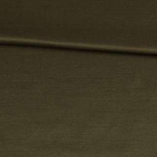 Коттон с отливом оливковый темный, ш.150