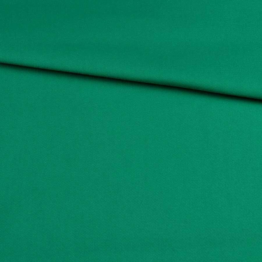 Коттон стрейч зеленый яркий, ш.145