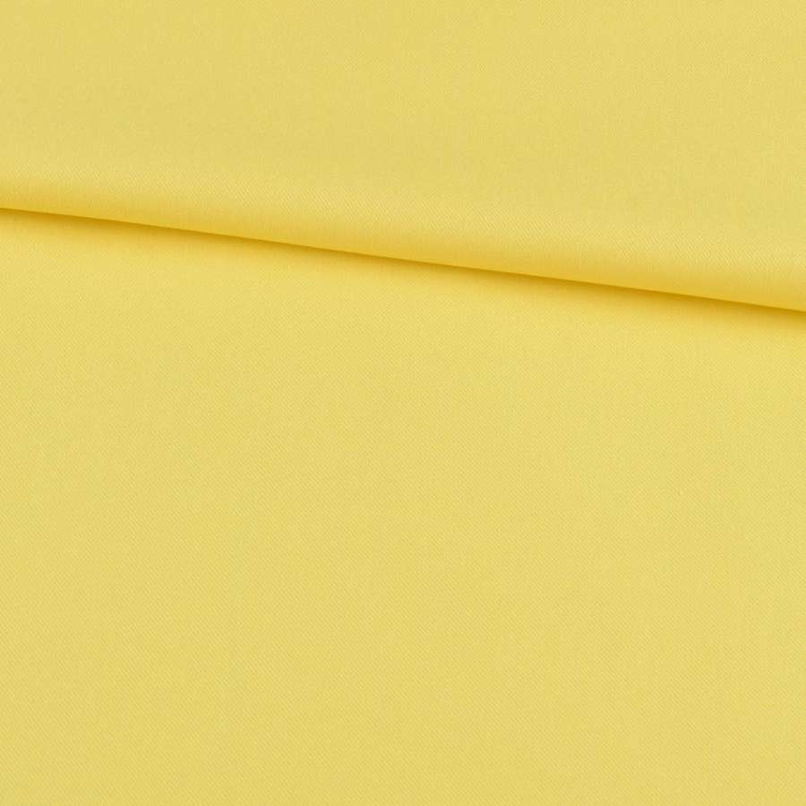 Котон стрейч жовтий, ш.150