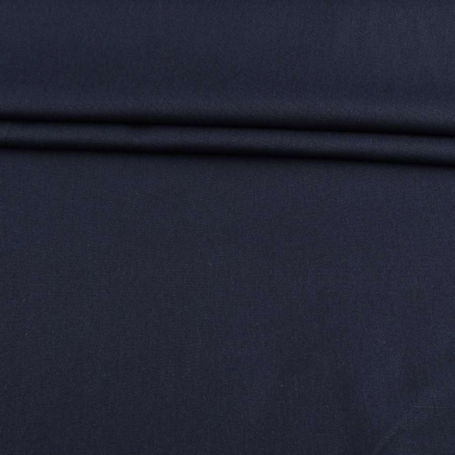 Коттон стрейч синий темный ш.147