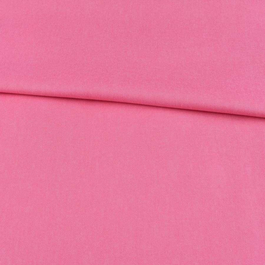 Коттон меланж стрейч розовый, ш.150