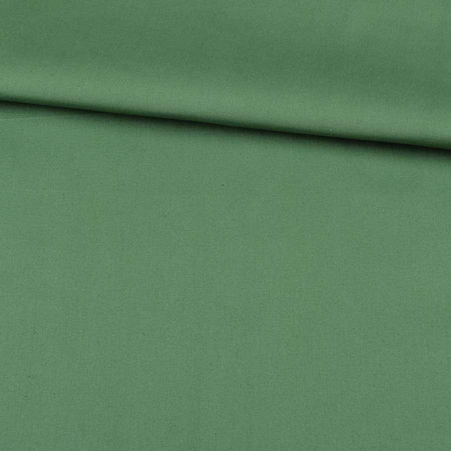 Коттон стрейч зеленый, ш.127