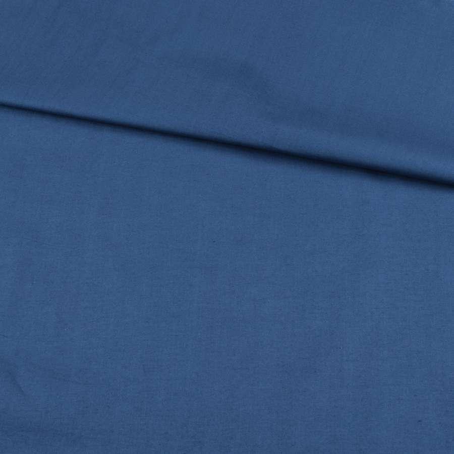 Коттон стрейч синий, ш.127
