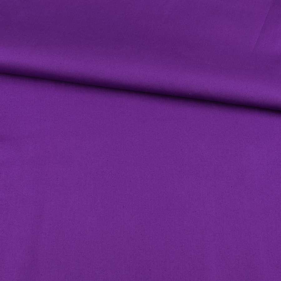 Коттон стрейч фиолетовый, ш.125