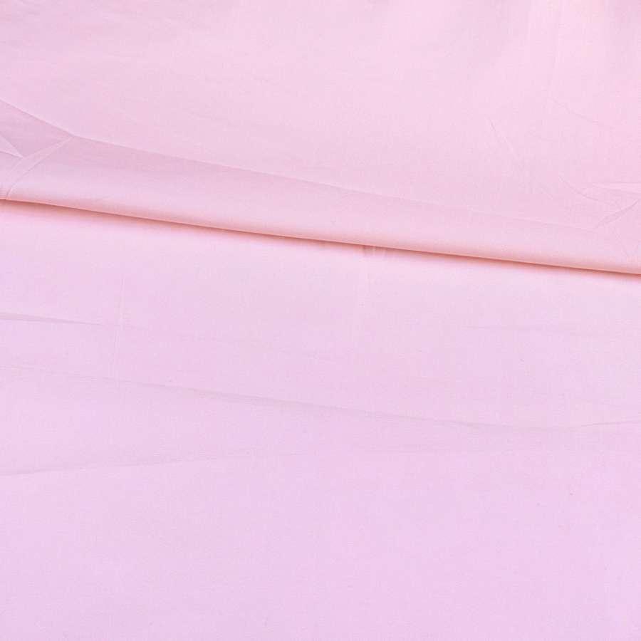Коттон стрейч розовый светлый, ш.115