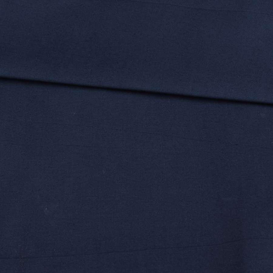 Коттон стрейч синий темный, ш.110