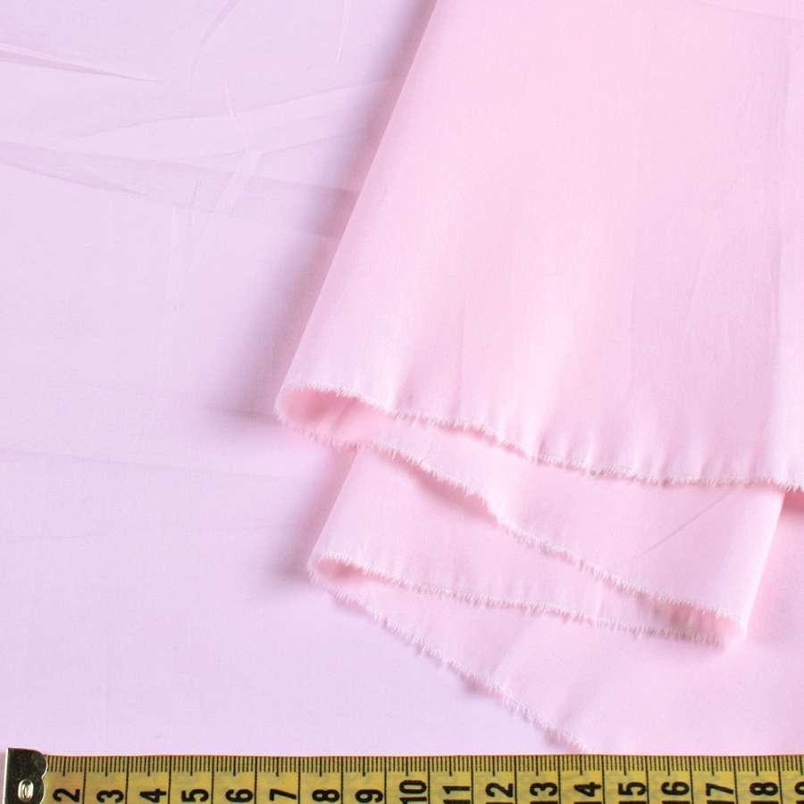 Коттон стрейч розовый бледный, ш.117