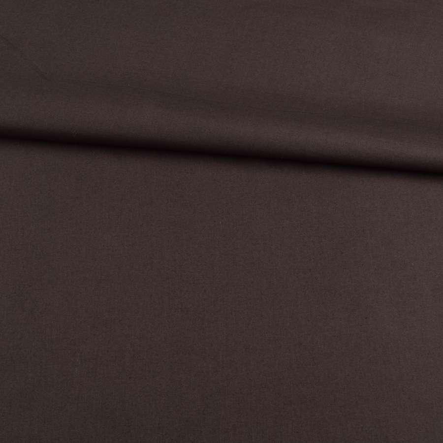Коттон стрейч коричневый темный, ш.142