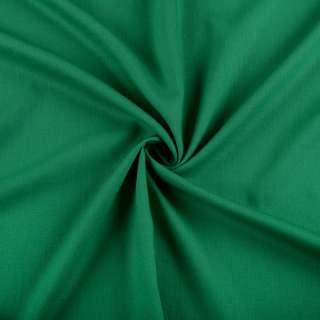 Бавовна з льоном зелена смарагдова ш.150