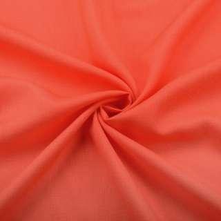 Бавовна з льоном помаранчева яскрава ш.150