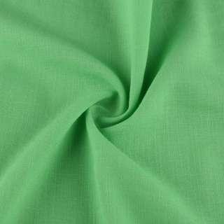 Бавовна з льоном зелений ш.150