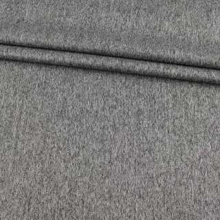 Коттон стрейч костюмный серый меланж ш.140