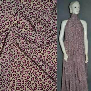 Купра диллон песочная с розовыми камешками ш.150