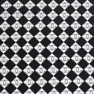 Купра диллон белая с черными ромбами ш.151