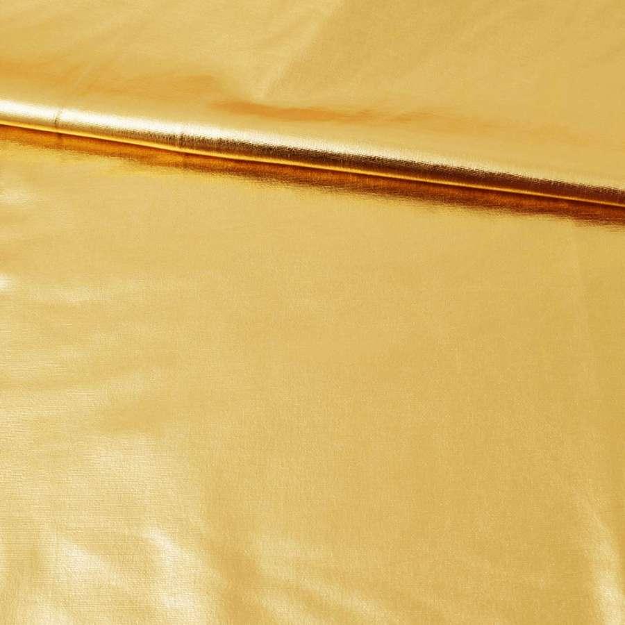 Лайкра металик золото светлое, ш.150
