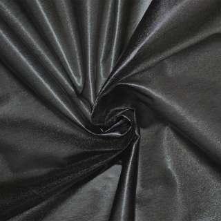 Лайкра под кожу легкая черная с блеском ш.120