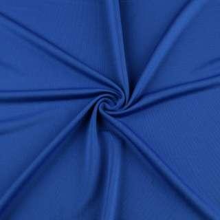 Микролайкра синяя яркая ш.160