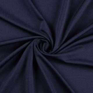 Микролайкра темно синяя ш.162
