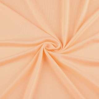 Микролайкра оранжево молочная ш.160
