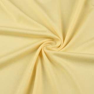 Микролайкра желтая светлая ш.165